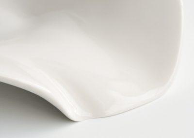 Mar plato porcelana colección Humana