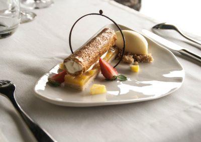 Emplatado colección Humana restaurante Jauregibarria