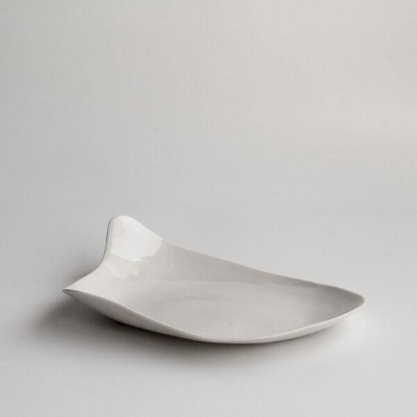 Ana Plato llano grande de porcelana