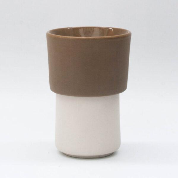 Buna kit taza blanca + filtroV60 tostado