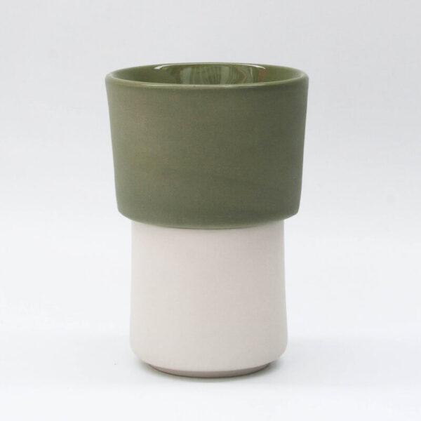 Buna kit taza blanca + filtroV60 verde