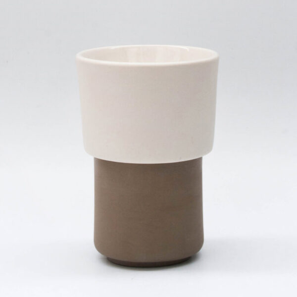 Buna kit taza tostada + filtroV60 blanco