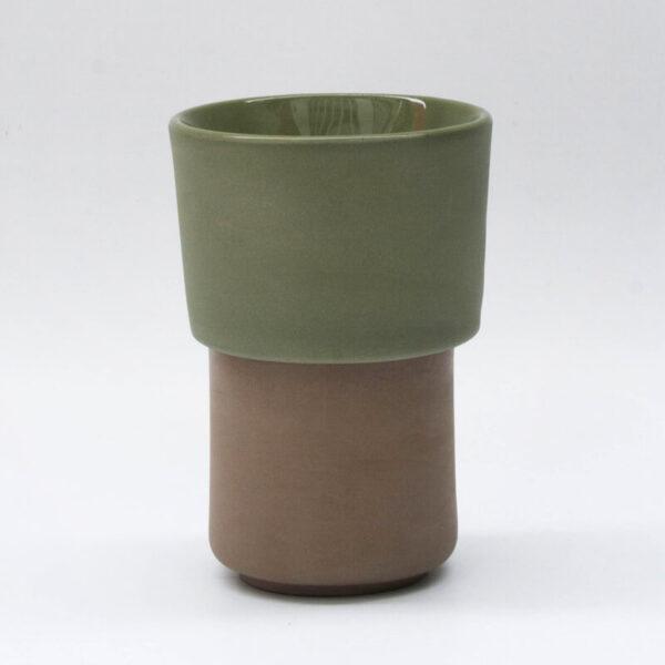 Buna kit taza tostada + filtroV60 verde