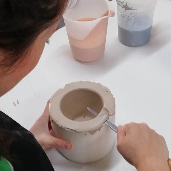 Colado porcelana