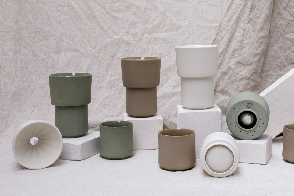 Bodegón Kits para café de filtro Buna color coordinado