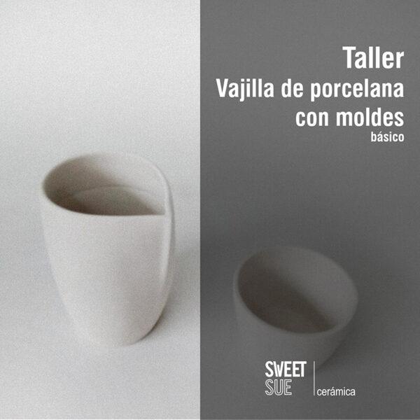 Taller porcelana con moldes