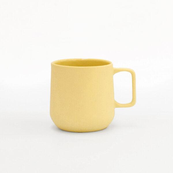 Taza grande mug amarilla Pop!
